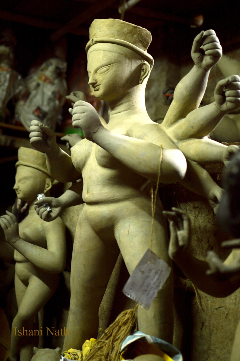 Kumartuli in Kolkata- A photowalk